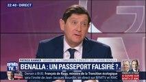 """Passeports de Benalla : """"Si le Sénat n'avait pas fait son travail, nous n'aurions pas su qu'il avait fait 20 voyages"""""""