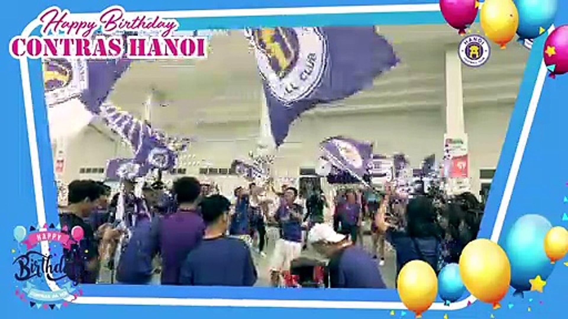 CLB Hà Nội chúc mừng sinh nhật hội CĐV Contras lần thứ IV | HANOI FC