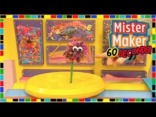 Woolly Pencil Budge  ️  ️ - HOW TO MAKE IN 60 SECONDS | Mister Maker