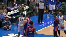 Ray Spalding goes up to get it and finishes the oop