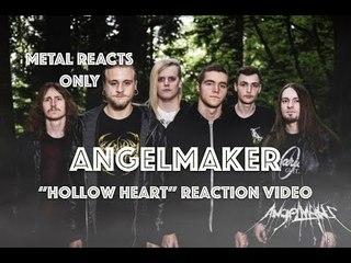 "ANGELMAKER ""Hollow Heart"" Reaction Video | Metal Reacts Only | MetalSucks"