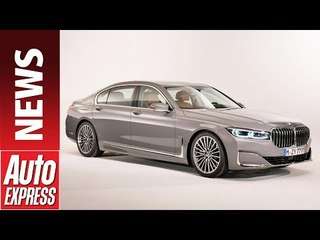 New 2019 BMW 7 Series - meet the S-Class rival and its big grille