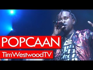Popcaan Unruly Tour in London sold out Wembley Arena - Westwood