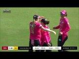Lauren Smith catch Sydney Sixers  vs Melbourne Renegades WBBL