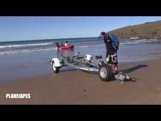 Amazing Boat Docking Direct To Sand Beaches