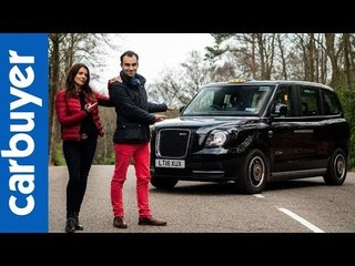 Batch & Ginny: LEVC TX Taxi 2019 review - Carbuyer