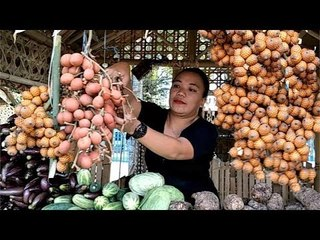 Selling Local Fruits During Town Anniversary