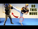 How to do the powerful round Kick   Master Wong - GNT