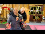 How effective is wing chun against knife | Master Wong