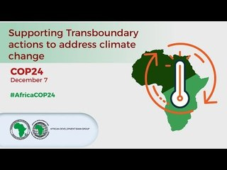 Supporting Transboundary actions to address climate change