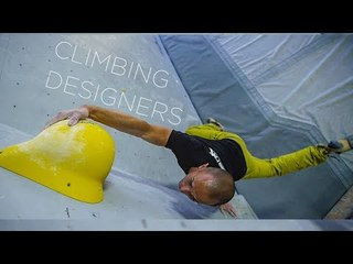 Crafting Body Contorting Boulders: Enrico Baistrocchi   Climbing Designers, Ep.4