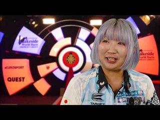 Mikuru Suzuki on reaching the Ladies Final