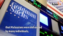 Goldman CEO apologises to the Malaysian people