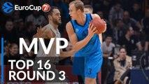 7DAYS EuroCup Top 16 Round 3 MVP: Luke Sikma, ALBA Berlin