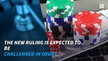 The online game will be illegal