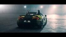 VÍDEO: McLaren 600 LT Spider, qué pasada la nueva versión descapotable