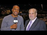 Al Bernstein REACTION to CURSES & INSULTS from Adrien Broner!