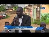 RTG/ Le président du BDP visite les populations du quartier Akebe pour édifier les populations sur l'état de santé du président