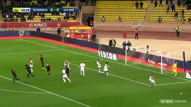 AS Monaco vs Nice Highlights –  January 16th, 2019
