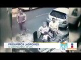 Presuntos ladrones se arrepienten y van | Noticias con Zea