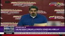 Venezuela: presidente Maduro presenta la Misión Venezuela Bella