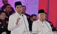 """Jokowi Sampaikan Program """"Pusat Legislasi Nasional"""" (Debat Pertama Pilpres 2019 - Bag 2)"""