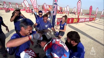 Short clips -Tears and Smiles / Larmes et Sourires -  Étape 10 / Stage 10 (Pisco / Lima) - Dakar 2019