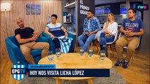 """Licha López: """"Con el delantero que me sentí más cómodo adentro de la cancha fue con Bou"""""""