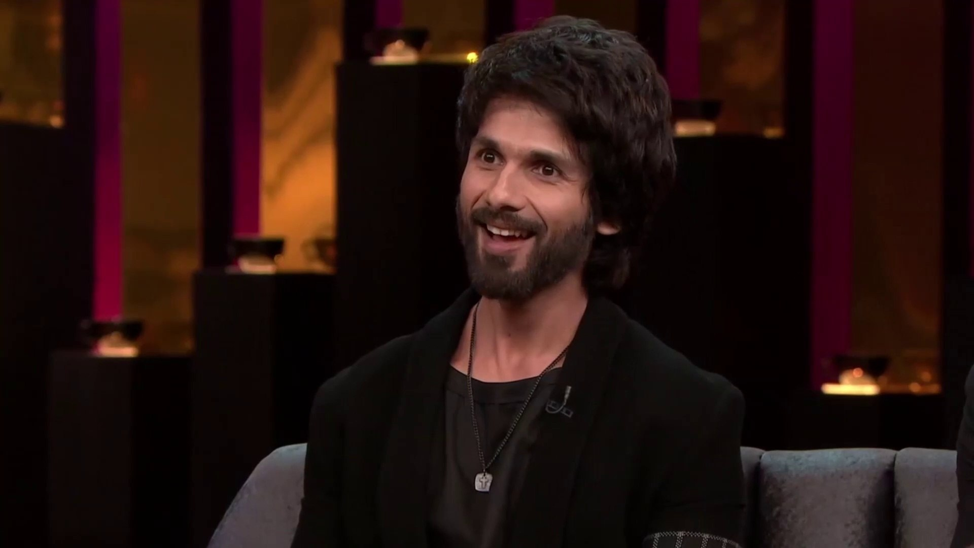 Koffee With Karan - While Shahid prompts a tongue-tied Ishaan to spill the beans about his flings.