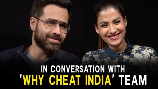 In Conversation With Emraan Hashmi & Shreya Dhanwanthary | Why Cheat India |