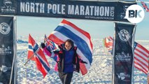 """Thailand's first runner to join the """"Seven Continents Club"""""""