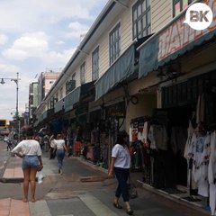 Khaosan Road has been cleared of its legendary street-food