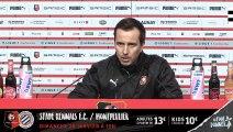 J21. Stade Rennais F.C. / Montpellier : conférence de presse