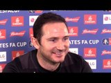 Frank Lampard Full Pre-Match Press Conference - Southampton v Derby - FA Cup Replay