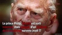 À 97 ans, le prince Philip impliqué dans un accident de la circulation