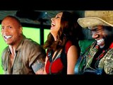 JUMANJI 2 Bloopers and Hilarious Footage On Set