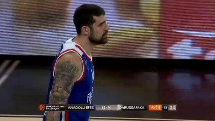 EuroLeague 2018-19 Highlights Regular Season Round 19 video: Efes 82-68 Darussafaka