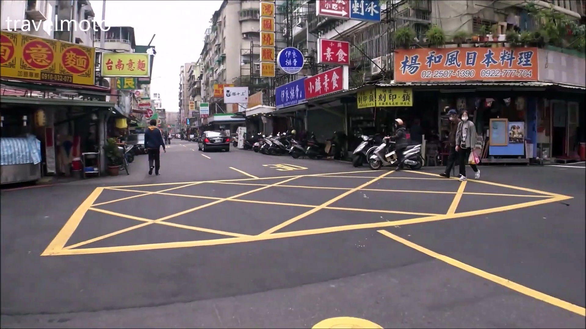 Motorcycles in Taiwan