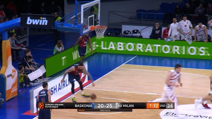 KIROLBET Baskonia Vitoria-Gasteiz - AX Armani Exchange Olimpia Milan Highlights | EuroLeague RS Round 19