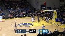 Trey Lewis (15 points) Highlights vs. Santa Cruz Warriors