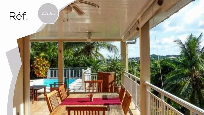A vendre - Maison/villa - Le francois (97240) - 4 pièces - 160m²