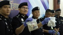 Police seize RM2.14mil worth of drugs in series of raids