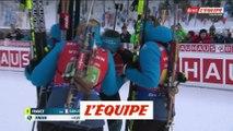 La France s'impose dans le relais de Ruhpolding - Biathlon - CM