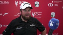 Reaction from Lowry, Sterne, after final round of Abu Dhabi Championship