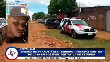 Menina de 14 anos é assassinada a facadas dentro de casa, em Araçatuba