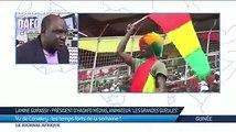 Lamine Guirassy sur TV5 Monde