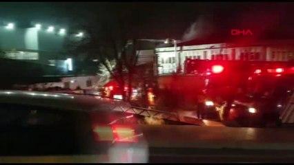 İstanbul Avcılar'da Dondurma Fabrikasında Yangın-3