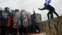 """Heurts à Athènes : les grecs s'opposent au nom """"Macédoine du Nord"""""""