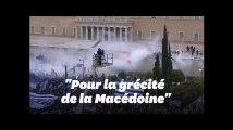 Violences à Athènes lors d'une manif contre le nouveau nom de la Macédoine