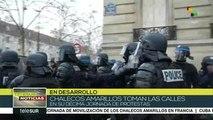 Francia: policía reprime protestas de los Chalecos Amarillos